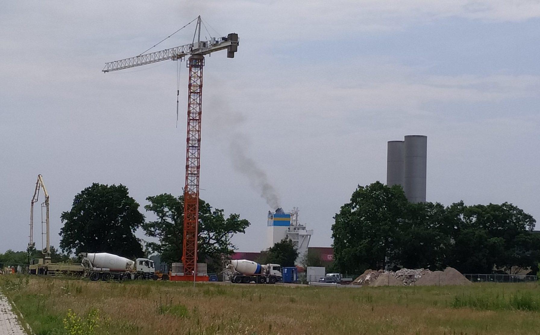 Elbcube Wedel bei Hamburg: Baufortschritt Juni 2020